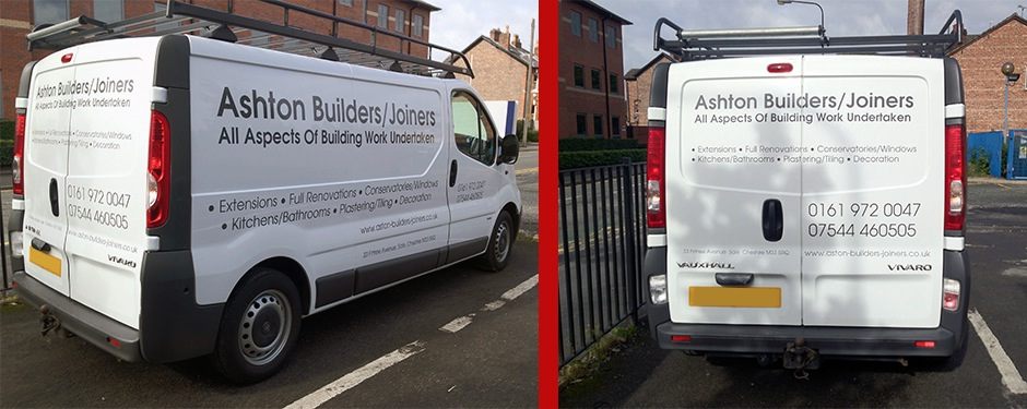Basic Van Graphics Manchester