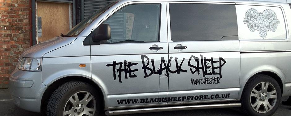 Basic Van Graphics Manchester