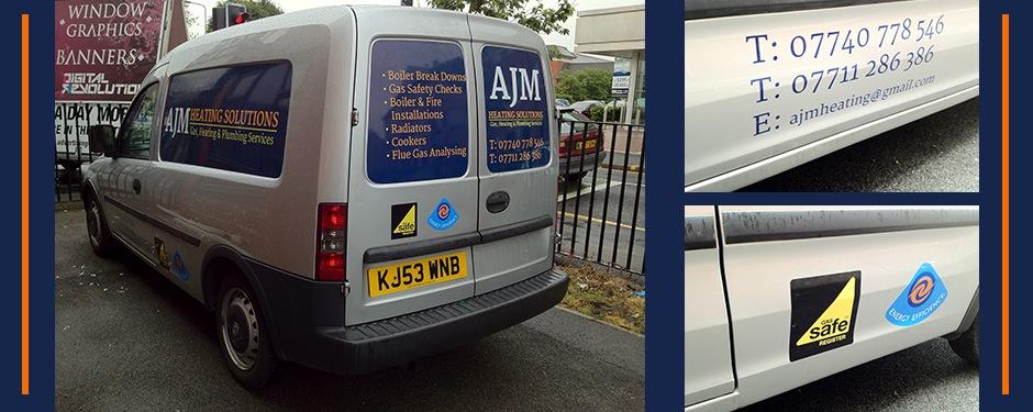 Premium Van Graphics Manchester