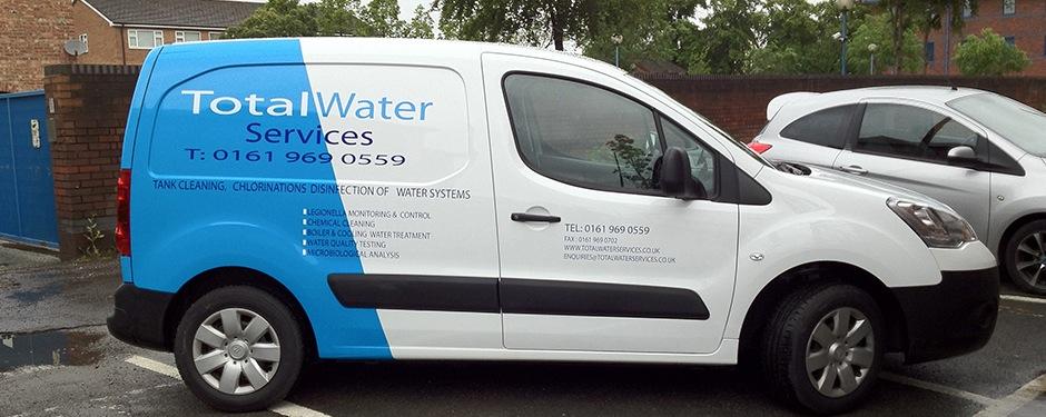 Fleet Van Wraps Manchester