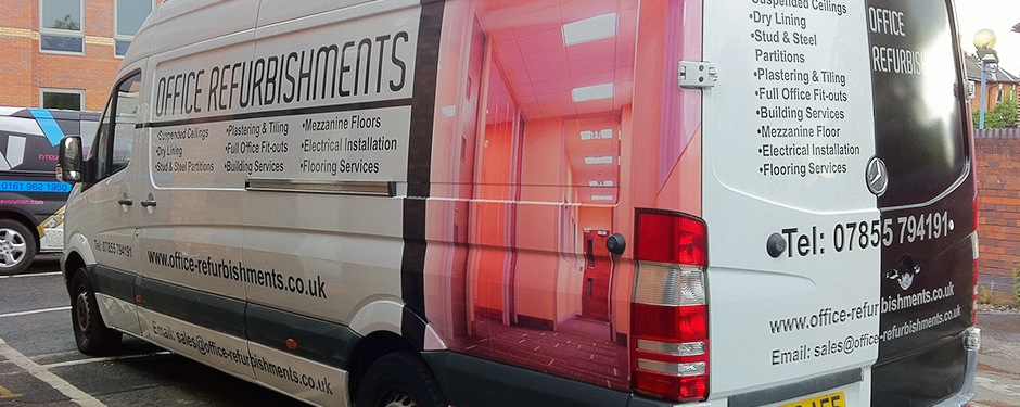 Partial Van Wraps Manchester