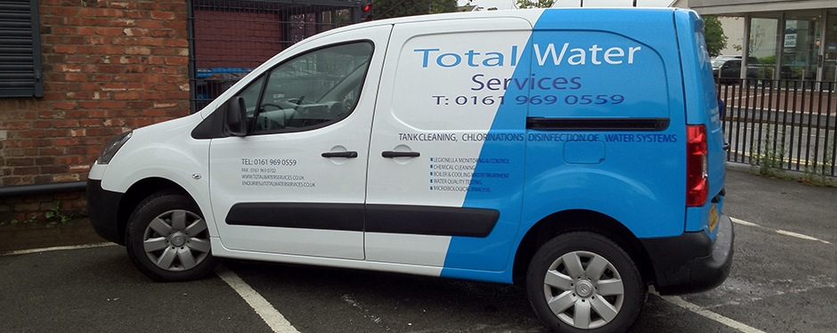 Partial Van Wraps Manchester