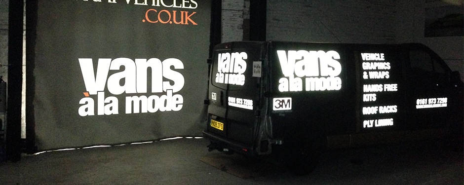 Reflective Van Graphics Manchester