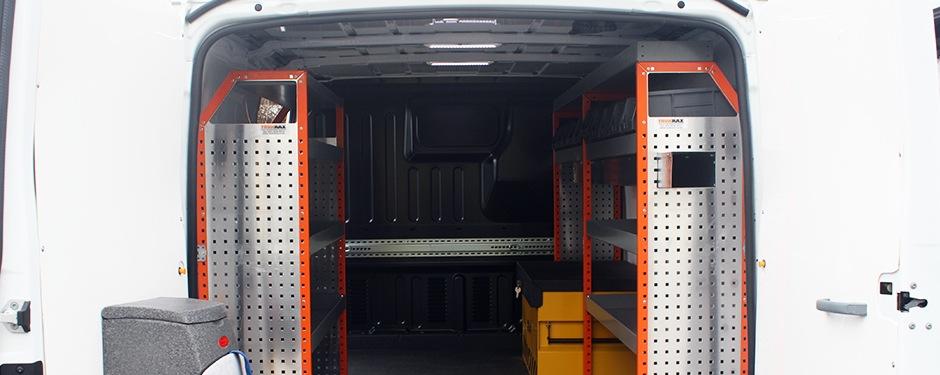 Internal Van Racking Manchester